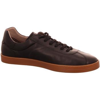Schuhe Herren Sneaker Low Triver Flight Schnuerschuhe 01-nero schwarz