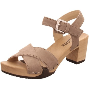 Schuhe Damen Sandalen / Sandaletten Softclox Sandaletten 3517-07 -> beige