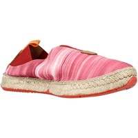 Schuhe Damen Leinen-Pantoletten mit gefloch Toni Pons I44IB Rot