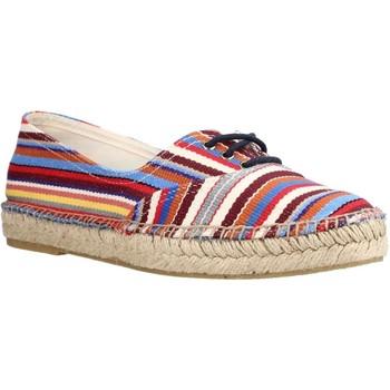 Schuhe Damen Leinen-Pantoletten mit gefloch Toni Pons IRENE BR Mehrfarbig