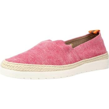 Schuhe Damen Leinen-Pantoletten mit gefloch Toni Pons BRUNA SU Rot