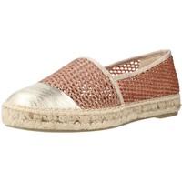 Schuhe Damen Leinen-Pantoletten mit gefloch Toni Pons RONDA ZY Rosa