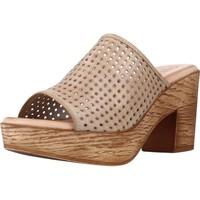 Schuhe Damen Pantoffel Cokketta 1212Y Brown