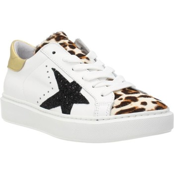 Schuhe Damen Sneaker Low Alpe 4244 21 Weiß