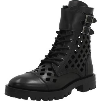 Schuhe Damen Boots Alpe 4371 20 Schwarz