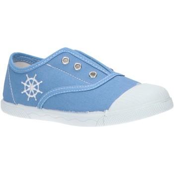 Schuhe Jungen Tennisschuhe Cotton Club CC0001 Azul