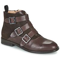 Schuhe Damen Boots JB Martin XALON Weiss / gelb / grau