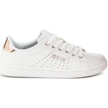 Schuhe Damen Sneaker Low Big Star DD274583 Weiß