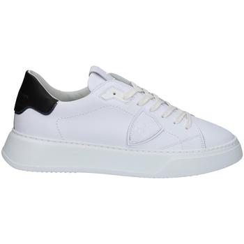 Schuhe Herren Sneaker Low Philippe Model BTLUV007 WEISS