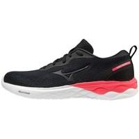 Schuhe Damen Sneaker Low Mizuno Wave Revolt Weiß, Schwarz, Rot