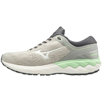 Schuhe Damen Sneaker Low Mizuno Wave Skyrise Weiß, Grau, Seladongrün