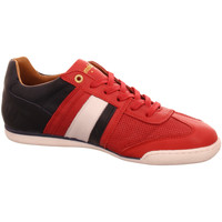 Schuhe Herren Sneaker Low Pantofola D` Oro Schnuerschuhe ImolaCroccoUomoLow-90J rot