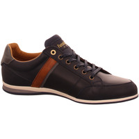 Schuhe Herren Sneaker Low Pantofola D` Oro Schnuerschuhe RomaUomoLow-29Y blau