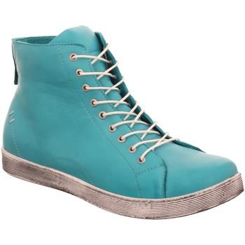 Schuhe Damen Boots Andrea Conti Stiefeletten 2032 0341500 018 türkis