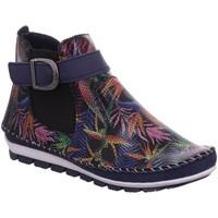 Schuhe Damen Boots Gemini Stiefeletten 382018-19/899 blau