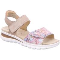 Schuhe Damen Sandalen / Sandaletten Ara Sandaletten 12-47209-86 beige