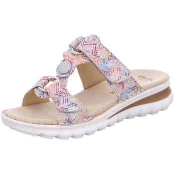 Schuhe Damen Pantoffel Ara Pantoletten 12-47210-70 bunt