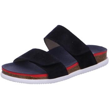 Schuhe Damen Pantoffel Ara Pantoletten 12-38104-72 blau