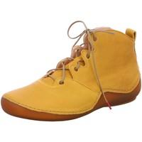 Schuhe Damen Boots Think Stiefeletten 3-000303-6000 gelb