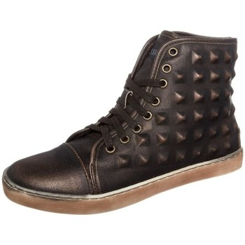 Schuhe Damen Sneaker High Cassis Côte d'Azur Baskets Belonie Bronze Gold