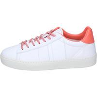 Schuhe Damen Sneaker Low Woolrich BJ473 Weiß