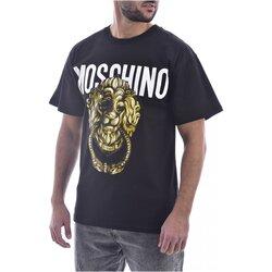 Kleidung Herren T-Shirts Moschino ZA0716 Schwarz