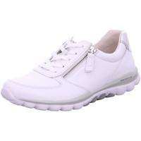 Schuhe Damen Sneaker Low Rollingsoft By Gabor Schnuerschuhe 66.968.51 weiß