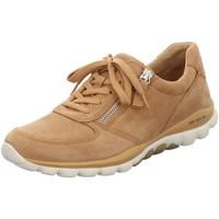 Schuhe Damen Sneaker Low Rollingsoft By Gabor Schnuerschuhe 66.968.32 32 braun