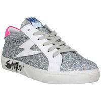 Schuhe Damen Sneaker Low Semerdjian 135397 Silbern