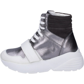 Schuhe Damen Sneaker High Twin Set BJ482 Grau