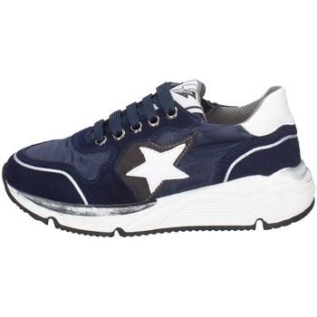 Schuhe Jungen Sneaker Low Asso AG-8704 BLAU