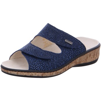 Schuhe Damen Pantoffel Fidelio Soft-Line G 245012 49 blau