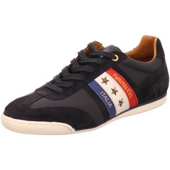 Schuhe Herren Sneaker Low Pantofola D` Oro Schnuerschuhe 102011032 29y blau