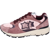 Schuhe Damen Sneaker Low Atlantic Stars Sneakers Wildleder Burgund