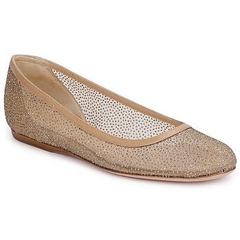 Schuhe Damen Ballerinas Sebastian GLIME Beige