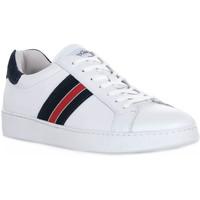 Schuhe Herren Sneaker Low NeroGiardini NERO GIARDINI 707 OUKLAND BIANCO Bianco