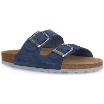 Schuhe Damen Pantoffel Grunland JEANS 70SARA Blu