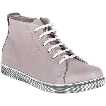 Schuhe Damen Boots Andrea Conti Schnuerschuhe Stiefeletten 006001- SILBERGRAU grau
