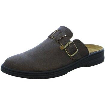 Schuhe Herren Pantoletten / Clogs Algemare 7990-m28 braun