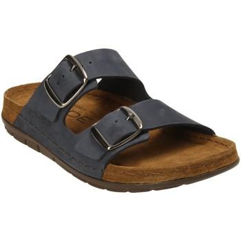 Schuhe Damen Pantoffel Rohde Pantoletten 586556 blau