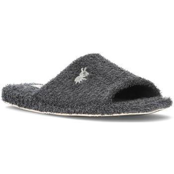 Schuhe Herren Hausschuhe Vulladi HAUS SLIPPER  ECORRIZO 6850B MAN MARENGO