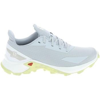 Schuhe Damen Wanderschuhe Salomon Alphacross Blast Blanc Weiss