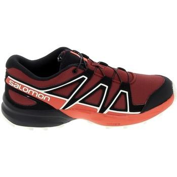 Schuhe Kinder Sneaker Low Salomon Speedcross K Rouge Noir Rot