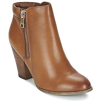Schuhe Damen Low Boots Aldo JANELLA Cognac