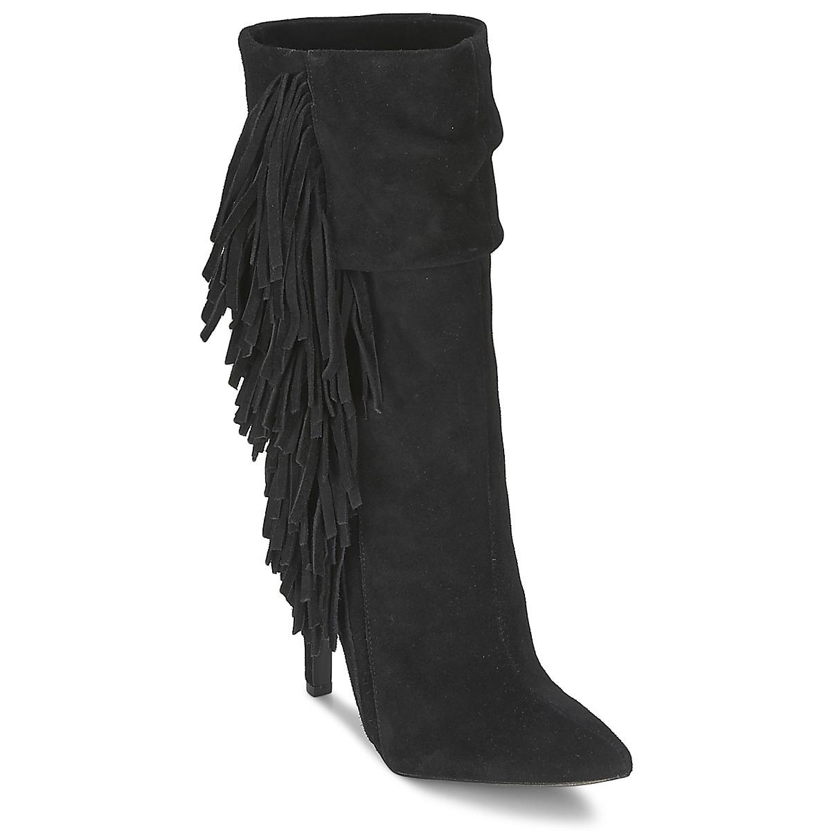 Aldo CIREVEN Schwarz - Kostenloser Versand bei Spartoode ! - Schuhe Low Boots Damen 74,00 €