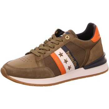 Schuhe Herren Sneaker Low Pantofola D` Oro Schnuerschuhe 10211028.52A braun