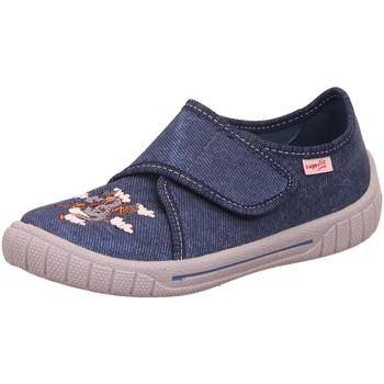 Schuhe Jungen Sneaker Low Legero Hausschuhe 1-800271-8020 blau