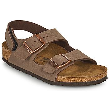 Schuhe Jungen Sandalen / Sandaletten Birkenstock MILANO HL Braun