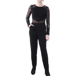Kleidung Damen Overalls / Latzhosen French Connection 7GGAP1 Schwarz