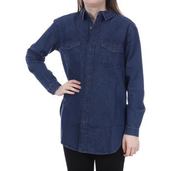 Kleidung Damen Hemden French Connection 72FBS40 Blau